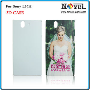3D Phone Case for Sony L36h/Sublimation Phone Case /Sublimation Mobile Phone Cover