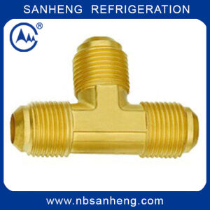 Brass Three Way Tees for Refrigeration pictures & photos