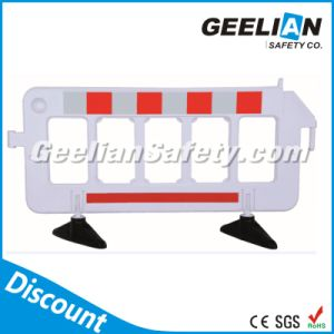 White, Yellow, Red Plastic Road Barriers, Car Packing Barrier