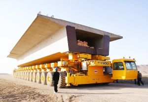 Ty900s Tunnel-Crossing Beam Conveying Vehicle