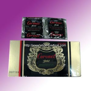 Disposable Latex Maled Flavored Condom (MW224A) pictures & photos