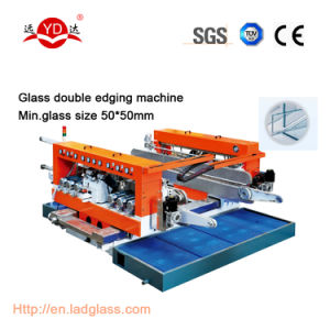 Manufacturer Supply Good Quality Glass Double Edging Machinery