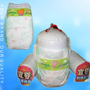 Cotton Baby Diaper With Sap pictures & photos