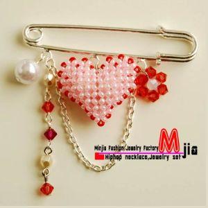 Handmade Muslim Jewelry Hijab Pins (QD SP158 90)