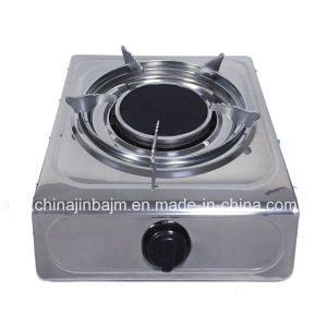 Single 135#Infrared Gas Stove with Electroplate Trivet pictures & photos