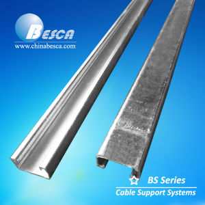 Hot DIP Galvanized Steel Solid Strut Channel 41X21 with CE