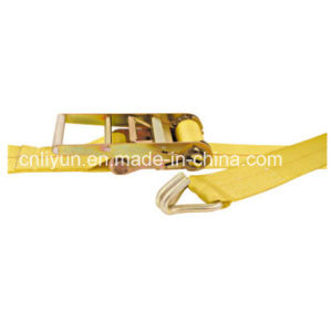 3′′ Ratchet Strap / Lashing Strap / 100% Polyester Cargo Control Strap with Wire Hook