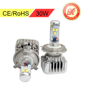 30W 3000lm Motorcycle CREE LED Headlight Bulbs H4 Hi/Lo Hb2 9003