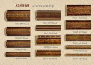 European Style PS Crown Moulding for Home Decoration pictures & photos