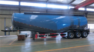 3 Axles 55cbm Cement Tanker Semi-Trailer pictures & photos