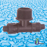Irrigation Valves Tee with Male Thread pictures & photos