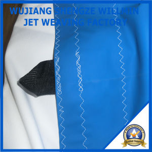 UV Antibacterial Fr PU Coated Stretch Tent Fabric pictures & photos