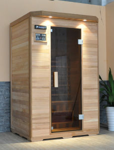 Infrared Sauna Cabin with CD Player (FIS-02L) pictures & photos
