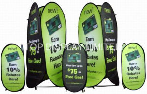 Fabric Display Banner Tower Retractable a Frame Pop up Stand Portable Folding a-Frame Outdoor Sports Event Advertising Display Stand Sign Banner pictures & photos