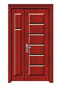 Hot Sale High Quality Solid Wooden Door with Fashion Design pictures & photos