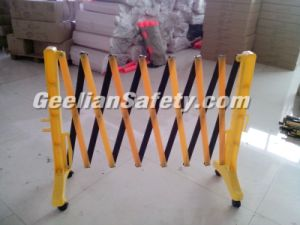 Retractable Construction Temporary Fencing/ Crowd Control PVC Barrier