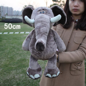 Free Shipping Nici Plush and Stuffed Toy Elephant Doll, Can Be Customized, 50cm, 1PC