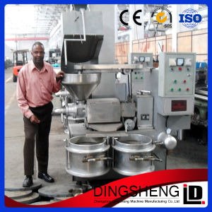 Cottonseed/Peanut/Sesame/Canola/Rapeseed/Mustard Seed/Soybean Oil Expeller Mini Oil Press Machine pictures & photos