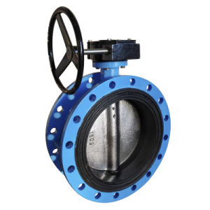 Flanged Butterfly Valve with Rubber Lined Body pictures & photos