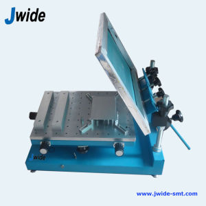 Simple Manual Paste Printer for PCB Assembly Line pictures & photos