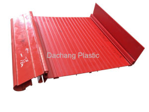 Supermarket Display PVC Extrusion Baseplate pictures & photos