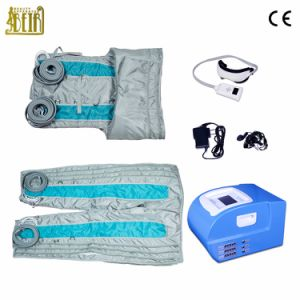 Pressotherapy for Toxin Detox / 24 Cells Pressotherapy Lymph Drainage Detoxin Health Equipment Body Massage pictures & photos