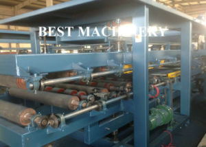 EPS&Rock Wool Sandwich Panel Wall Roof Roll Forming Machine pictures & photos
