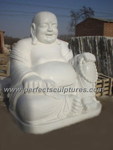 Antique Stone Marble Buddha for Feng Shui Statue Sculpture (SY-T028) pictures & photos