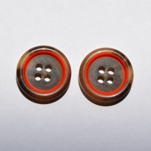 Factory Red Plastic Button Wan and Woman Garment pictures & photos