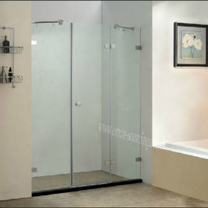 Frameless Shower Screen, Simple Shower Door (S5123-1L)