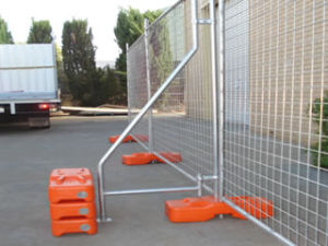 Hot Selling Temporary Fence (PVC or Galvanized Coated)