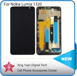 Original LCD for Nokia Lumia 1320 LCD Screen with Touch Screen Digitizer with Frame Assembly