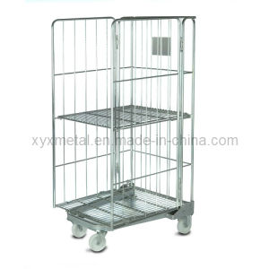 Fashionable Design Foldable and Stackable Hotel Trolley and Service Cart pictures & photos