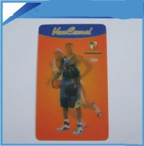 Plastic 3D Lenticular Printing Business Card