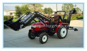 Small Tractor Fit with Front End Loader, Backhoe pictures & photos