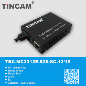 Fiber Optical Communication Equipment 10/100m Media Converter