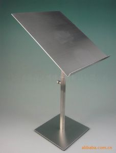 Good Quality Stainless Steel Poster Stand pictures & photos