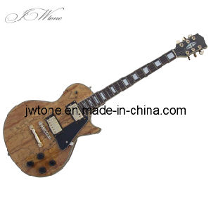 Spalted Maple Top Quality Lp Electric Guitar