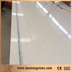 Artificial White Star Quartz Stone Slab for Kitchen Countertop