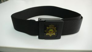 Military Male Belt with Plastic Buckle pictures & photos