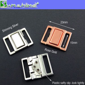 Nickle Free Metal Front Closure Clasp for Bra or Swimwear pictures & photos