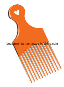 Beauty Plastic Orange Colour Long Tooth Compact Hair Comb for Girls BPS069