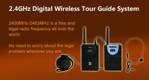 Wireless Whisper Tour Guide (movable Simultaneous Interpretation) Soyo-Wtg02 pictures & photos