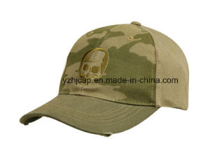 Custom Embroidery Caps Burshed Cotton Promotional Caps Hat Snapback Cap Embroidery Baseball Caps pictures & photos