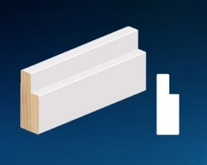 Wood &MDF Door Profile Door Jamb, Primed Door Frame pictures & photos
