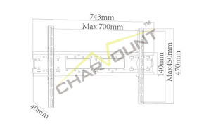 LCD TV Wall Mount Bracket (CT-PLB-712) pictures & photos