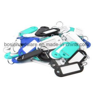 Plastic Key Card Tag Keychain