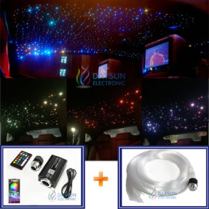 Creative Car Home Roof Stars Ceiling Lamp New Led Optic Fiber Cable Light Source Rgbw Room Starry Diy Lighting