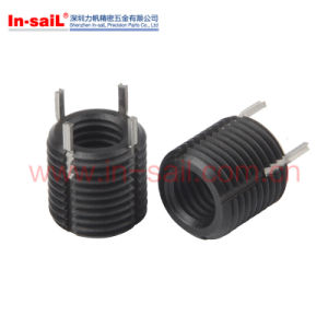 Black Oxide Self Tapping Threaded Inserts for Light Alloy pictures & photos