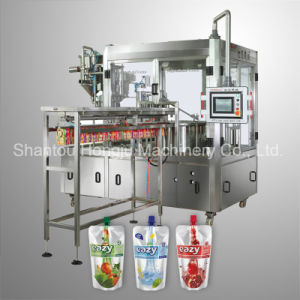 Juice Filling Machine for Spouted Pouch